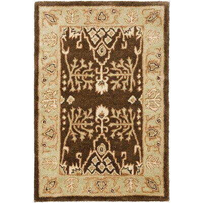 Bergama Brown/Green Area Rug