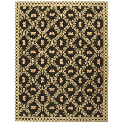 Kinchen Bumblebee Black Novelty Rug Rug Size: Rectangle 79 x 99