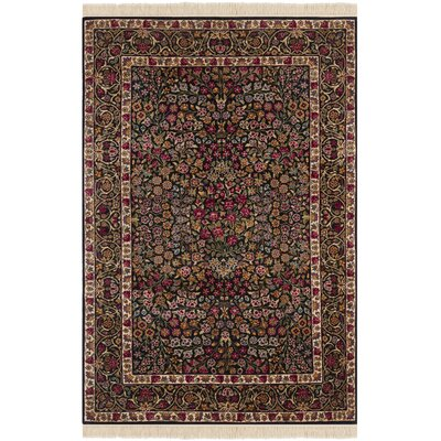 Royal Kerman Hand Knotted Area Rug Size: 8 x 10