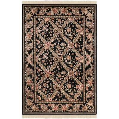Royal Kerman Hand Knotted Area Rug Size: 5x 7-6
