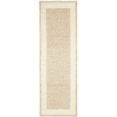 DuraRug Natural Area Rug Rug Size: Runner 26 x 10