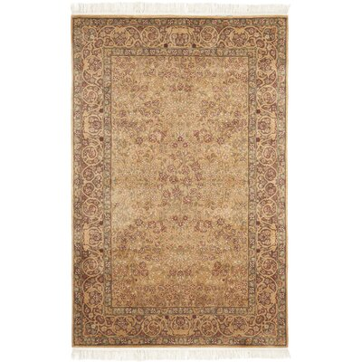 Royal Kerman Hand Knotted Area Rug Size: 9 x 12