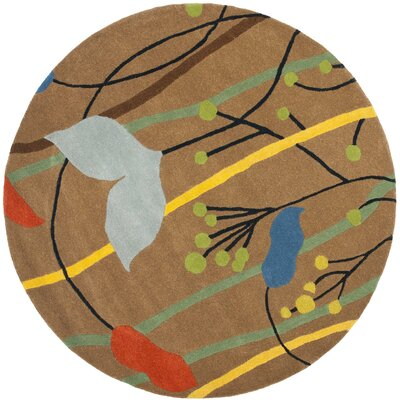 Soho Brown Grassland Area Rug