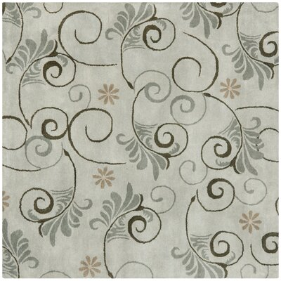 Soho Grey Area Rug Rug Size: Square 6