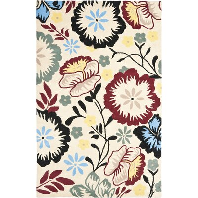 Soho Ivory Area Rug Rug Size: Rectangle 5 x 8