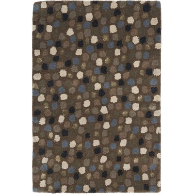 Soho Dark Grey Area Rug Rug Size: Rectangle 2 x 3