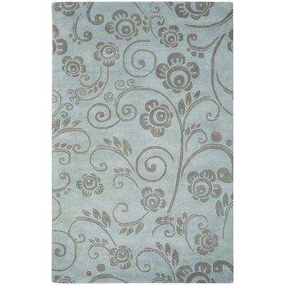 Soho Gray Area Rug Rug Size: Rectangle 5 x 8