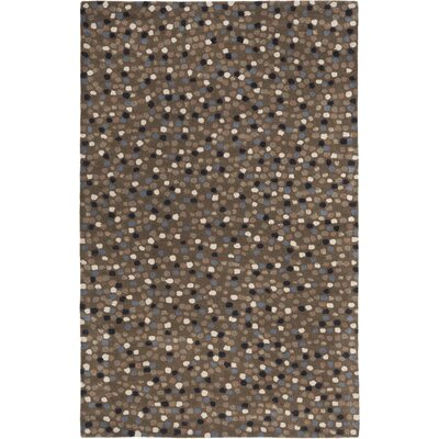 Soho Dark Grey Area Rug Rug Size: 76 x 96