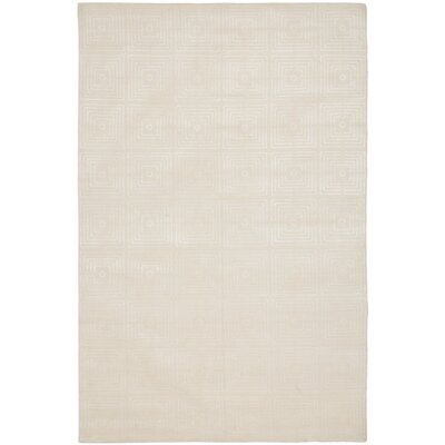 Tibetan Ivory / Ivory Geometric Rug Rug Size: 8 x 10