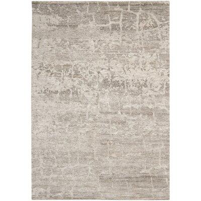 Tibetan Cream / Stone Rug Rug Size: 6 x 9