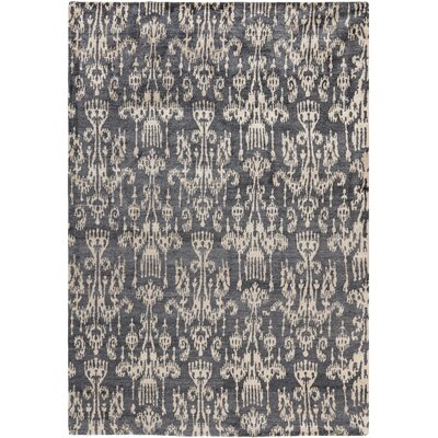Tibetan Coal Rug Rug Size: 6 x 9