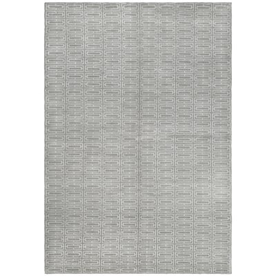 Tibetan Grey Geometric Rug Rug Size: 8 x 10