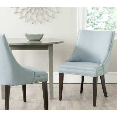 Katherina Upholstered Dining Chair Color: Light Blue
