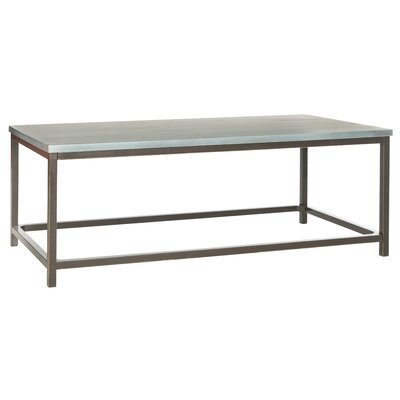 American Home Alec Coffee Table Finish: Steel Blue