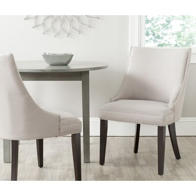 Katherina Upholstered Dining Chair Color: Taupe