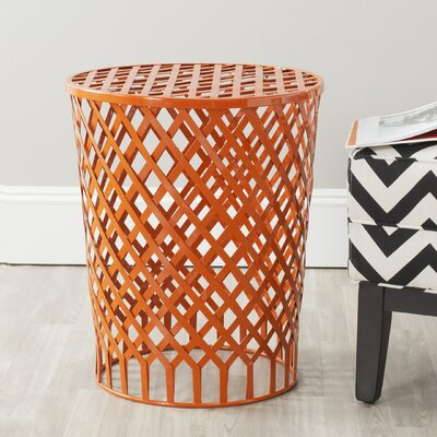 Fox Thor Welded Iron Strips Accent Stool