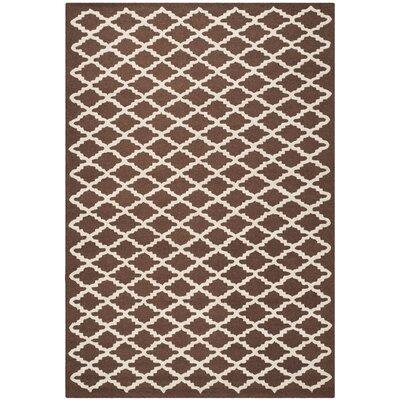 Safavieh Cambridge Dark Brown Area Rug - Rug Size: 6' x 9'