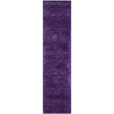 Shag Purple Rug
