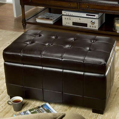 Strickland Ottoman Upholstery: Cordovan