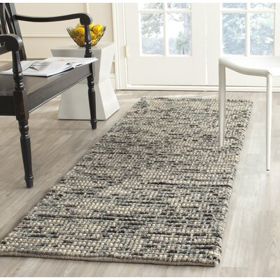 Silvia Hand-Wovn Natural Area Rug Rug Size: Runner 26 x 6