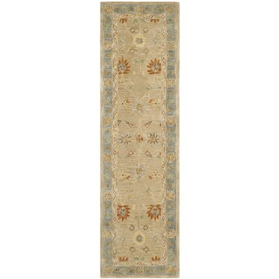 Anatolia Taupe/Grey Outdoor Area Rug Rug Size: Runner 23 x 8