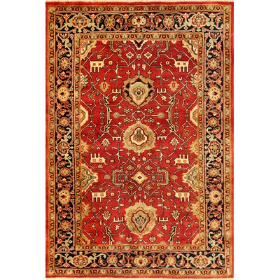 Heriz Red/Yellow Area Rug