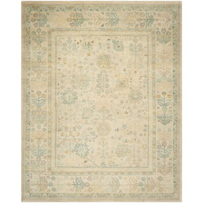 Sultanabad Ivory / Blue Rug Rug Size: 8 x 10