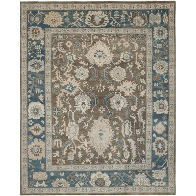 Sultanabad Blue Rug Rug Size: 9 x 12