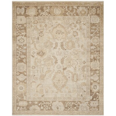 Sultanabad Beige / Brown Rug Rug Size: 8 x 10