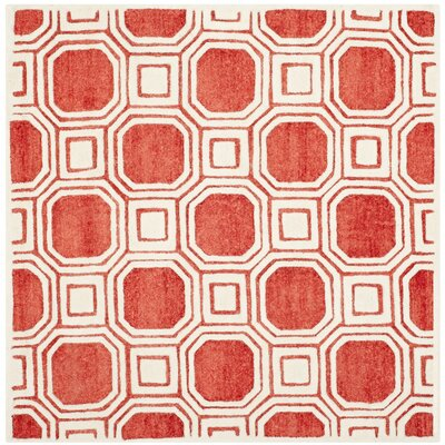 Precious Rose Rug Rug Size: Rectangle 8 x 10