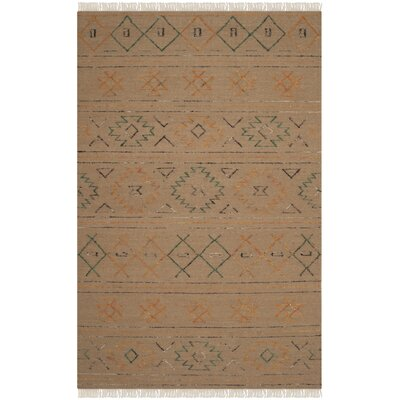 Safari Multi Colored Rug Rug Size: 5 x 8