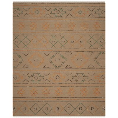 Safari Multi Colored Rug Rug Size: 8 x 10