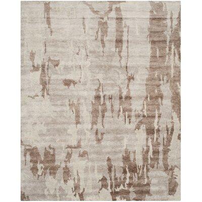 Tibetan Silver / Grey Rug Rug Size: 8 x 10
