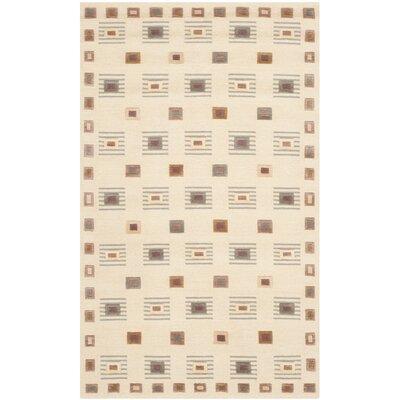 Tibetan Ivory Rug Rug Size: 3 x 5
