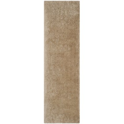 Zion Champagne Area Rug Rug Size: Runner 23 x 6