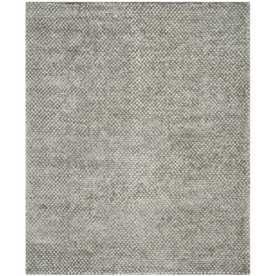 Maya Silver Rug Rug Size: Rectangle 8 x 10