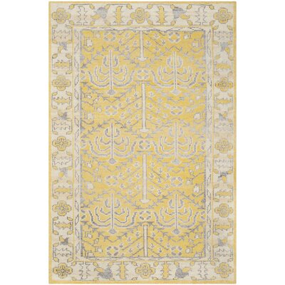 Maisie Yellow Rug Rug Size: Rectangle 5 x 8