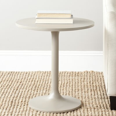 Troy End Table Finish: Pearl Taupe