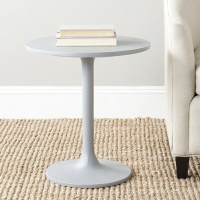Troy End Table Color: Pearl Blue Grey