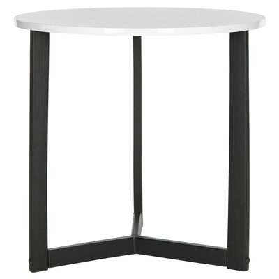 Bergen End Table Top Finish: White