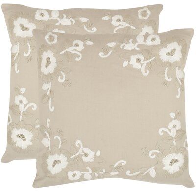 Jenny Cotton Throw Pillow Size: 20 H x 20 W x 2.5 D