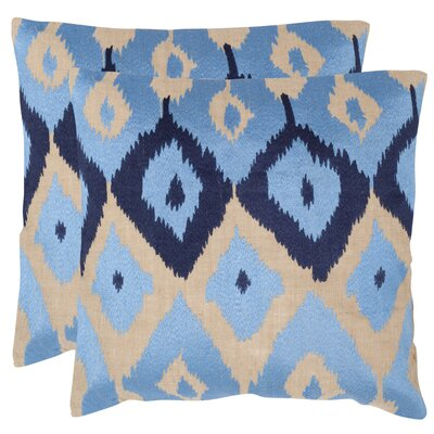 Jay Cotton Throw Pillow Size: 18 H x 18 W x 2.5 D