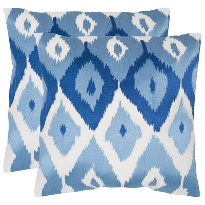 Lexi Cotton Throw Pillow Size: 22 H x 22 W