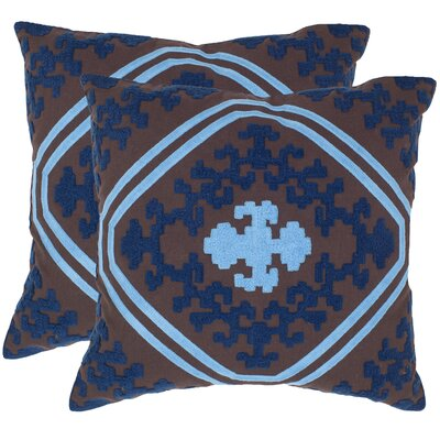 Pete Cotton Throw Pillow Size: 18 H x 18 W x 2.5 D