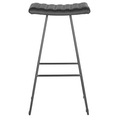 Akito 30 Bar Stool Upholstery: Black