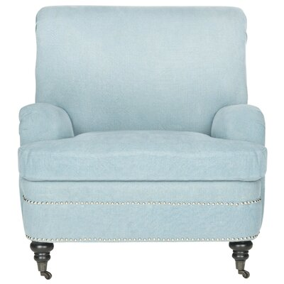 Silvia Armchair Upholstery: Light Blue