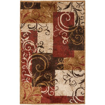 Kashmir Camel Area Rug Rug Size: Rectangle 4 x 6