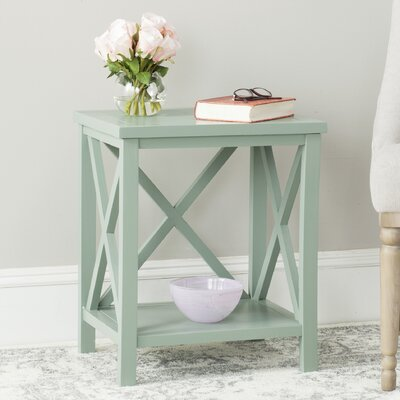 Davies End Table Color: Dusty Green