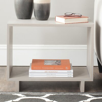 Raylan End Table Color: Grey