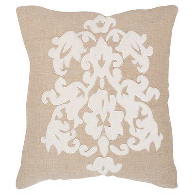 Margie Cotton Throw Pillow Size: 22 H x 22 W x 2.5 D